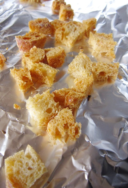 How to Make Croutons | Cooking | Pinterest