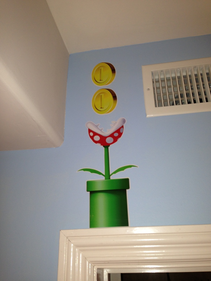 New super mario bros decor mario bros pinterest for Mario decorations