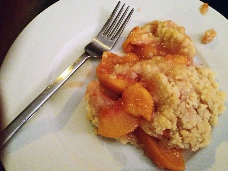 peach crisp | Sweets! | Pinterest