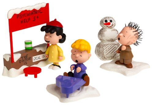 Peanuts Christmas Figures