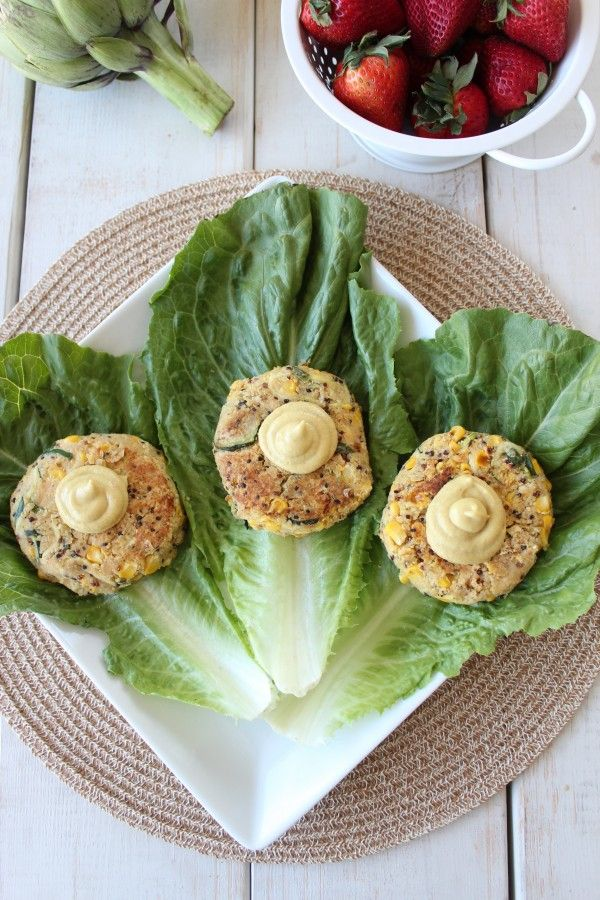 Zucchini Quinoa Burgers | Vegan - savory | Pinterest