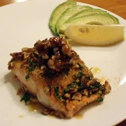 Pecan crusted salmon~ definitely making this next week!
