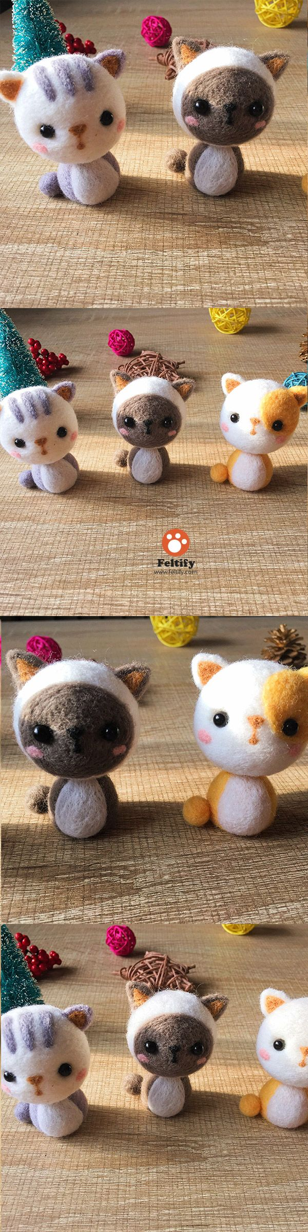 Eyes and Noses for Amigurumi amp Needle felted animals! by