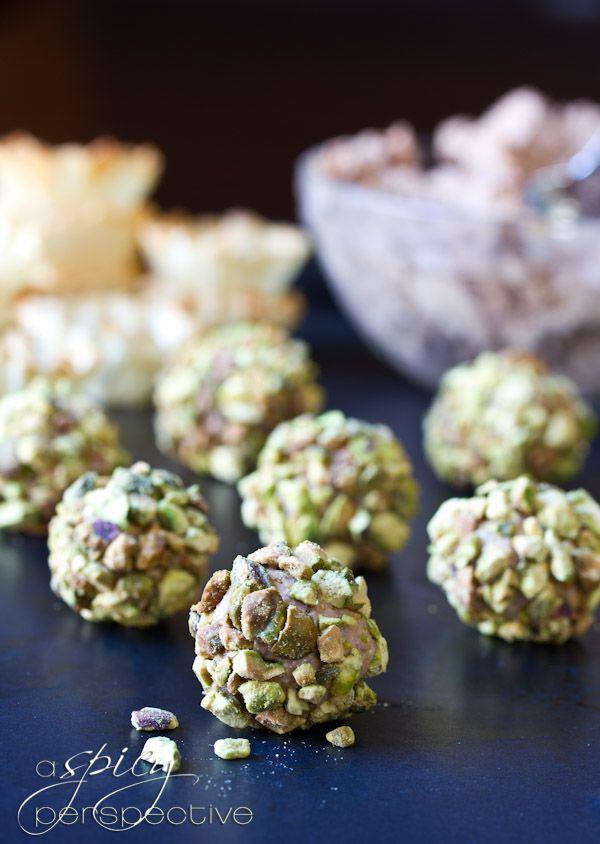 Mini Cheese Ball Recipe in Fillo Shells