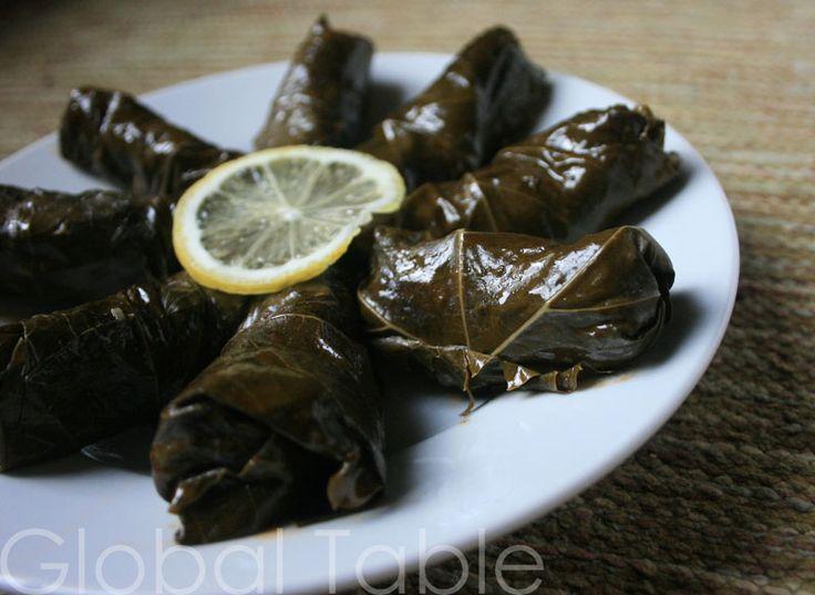 Armenian Stuffed Grape Leaves (Yalanchi Sarma) | Recipe