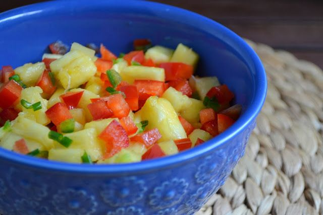 Pineapple Salsa | Healthy eats! | Pinterest