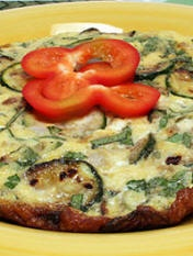 Zucchini and Onion Frittata   Fabulous Food & Wine   Pinterest