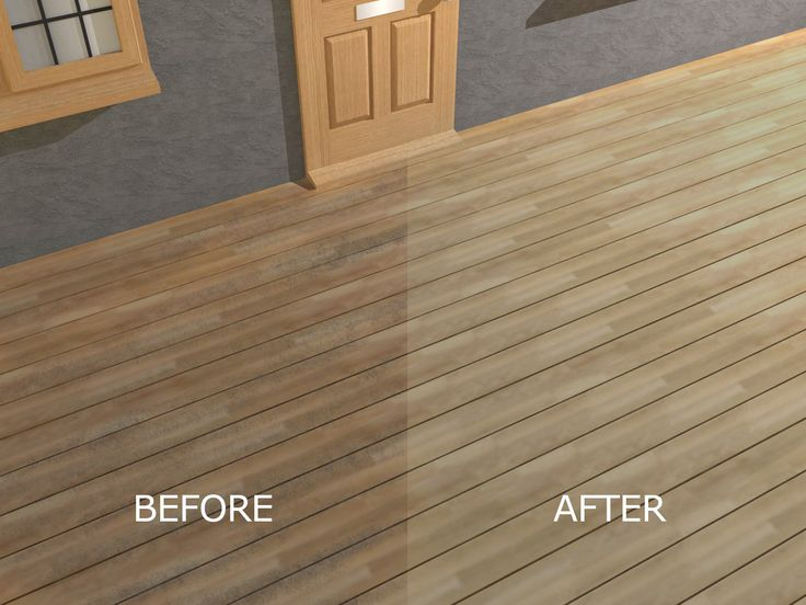 to seal and stain pressure treated wood decking via