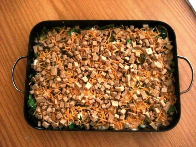 Vegan Sunday Brunch-Hashbrown Casserole | vegan breakfast | Pinterest