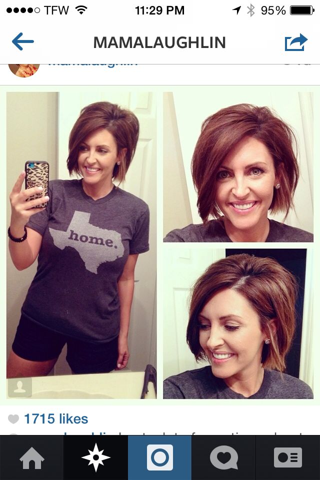 Mama Laughlin's short shacked hair | Beauty | Pinterest