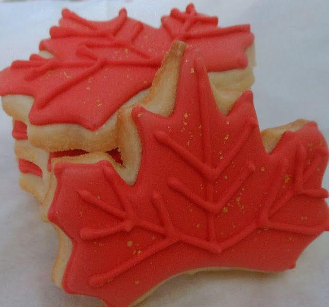 Maple Leaf Cookies   Sweet Treats {Group board}   Pinterest
