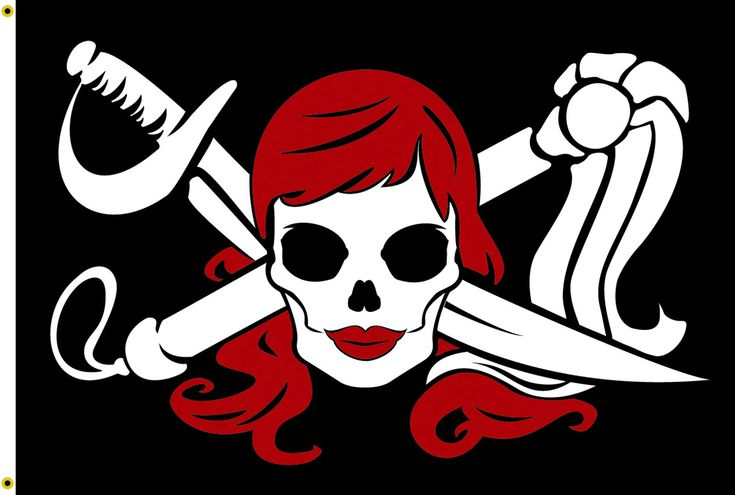 Jolly roger gif tattoo pictures to pin on pinterest - Molly Roger Flag Pirates Life Pinterest