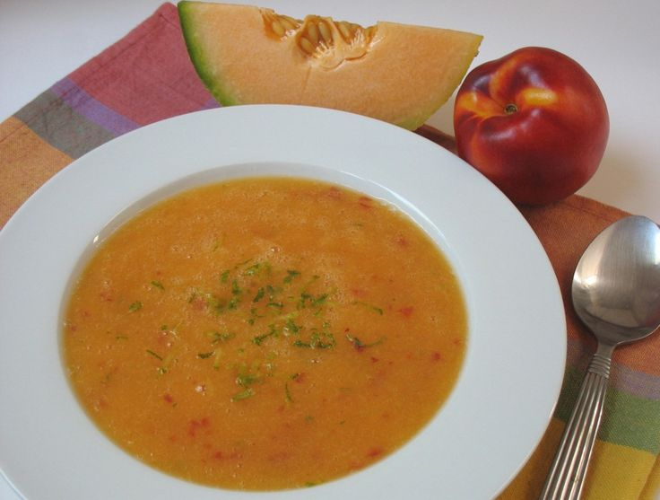 Summer Fruit Gazpacho | Food :D | Pinterest
