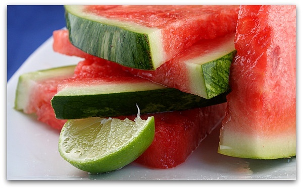 Tequila soaked watermelon wedges. | Like | Pinterest