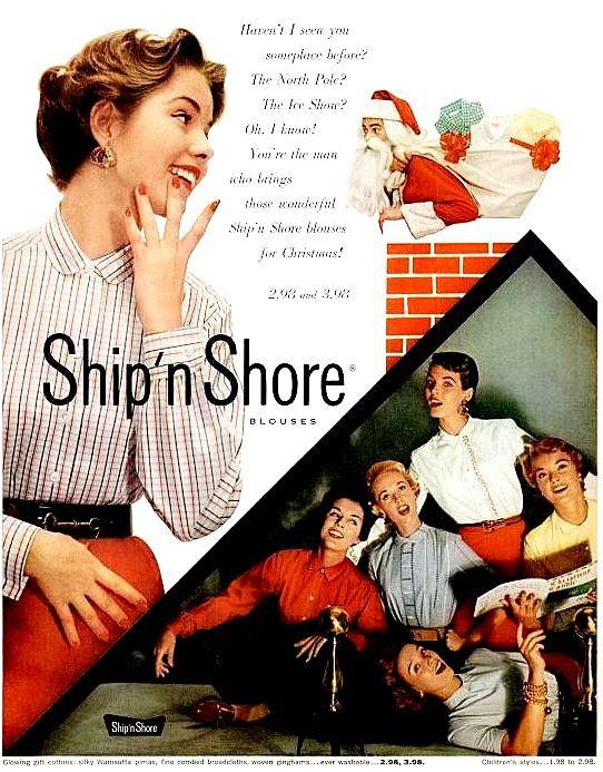 Ship N Shore Blouses Blouse No Bra