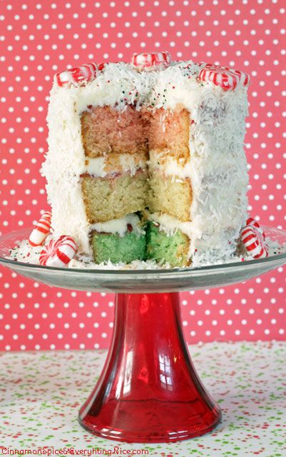 Neopolitan Christmas Cake Recipe — Dishmaps
