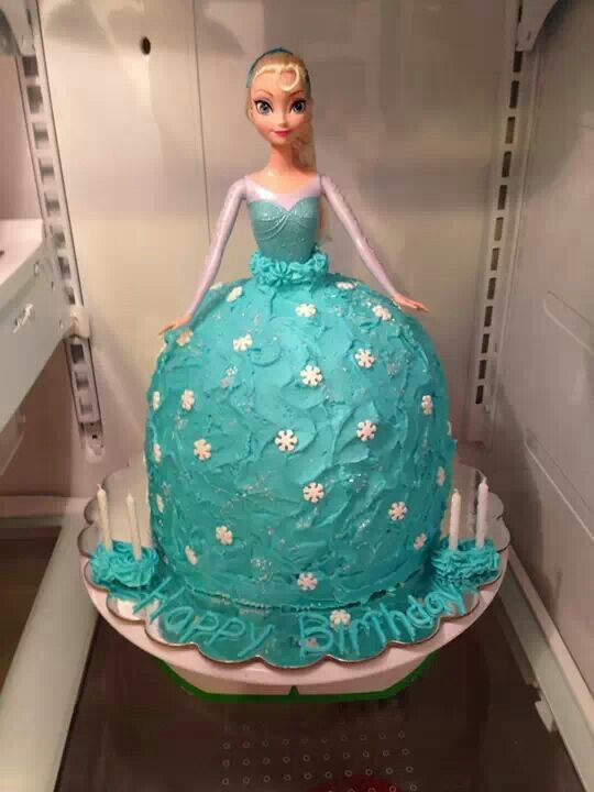 Princess Elsa Cake Party Planning Pinterest