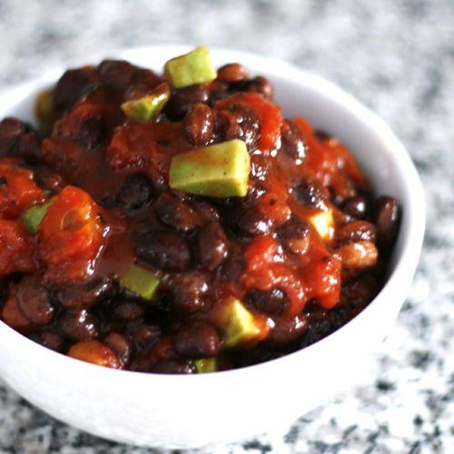 ... Easy Black Bean Dip — beer + fart jokes all night! #