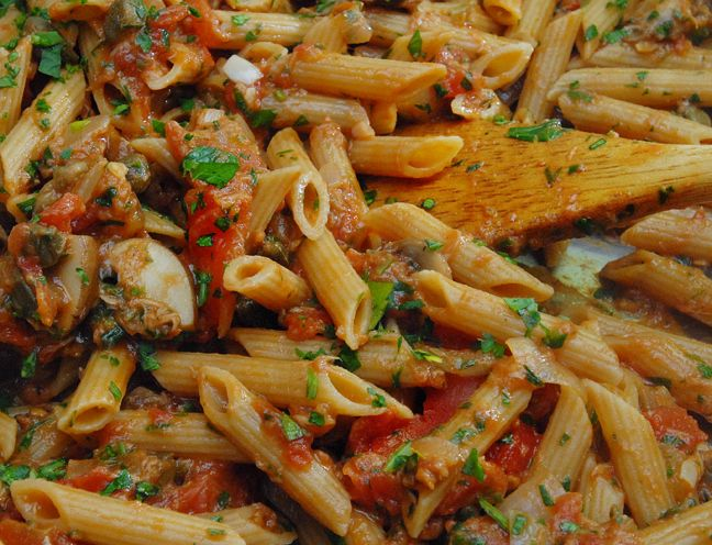 Pantry Pasta For Two Recipe — Dishmaps