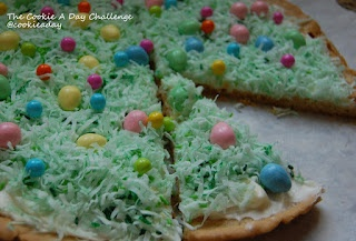 Easter Cookie Pizza | easter and spring | Pinterest