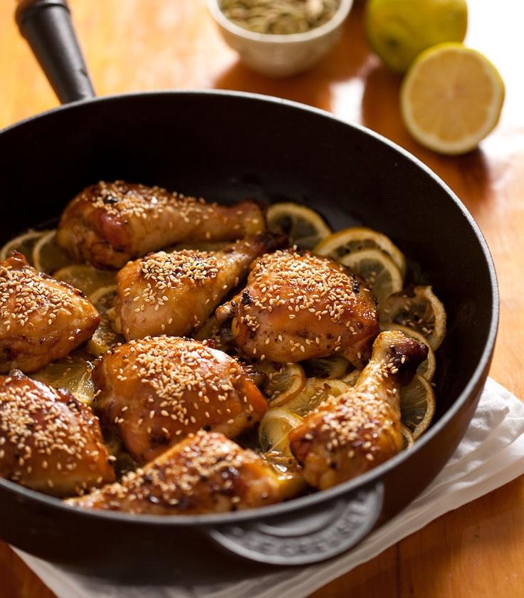 cardamom honey chicken | Main Course | Pinterest