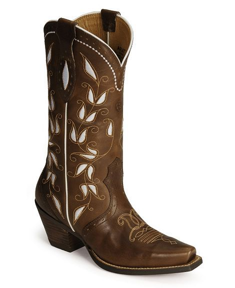 Beautiful cowboy boots!  Maybe for my wedding.