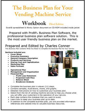 vending machine business business plan