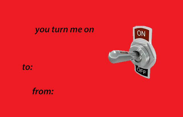 valentine's day card via text