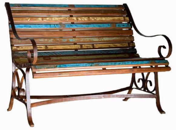 Distressed Bench Woman Cave Ideas Pinterest