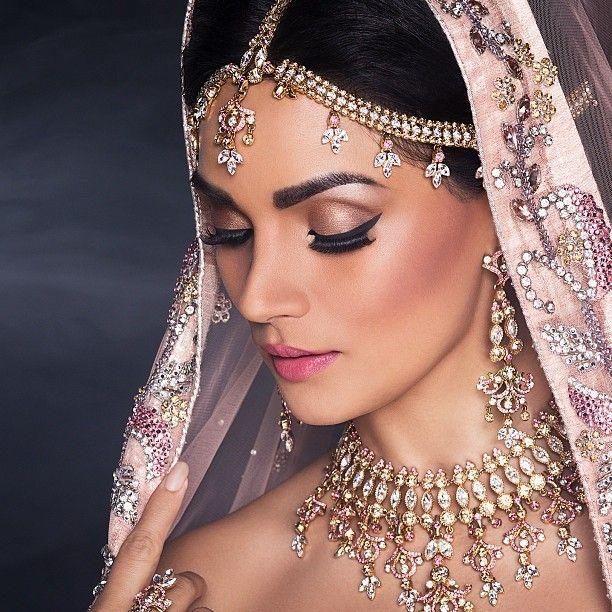 Indian Wedding. Cute Hair, Makeup N Nails Pinterest