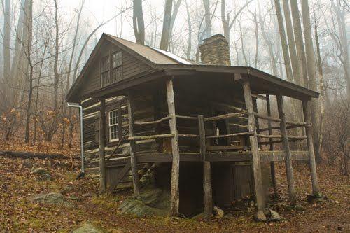Mountain cabin shenandoah valley va hatchet creek for Log cabins in shenandoah valley