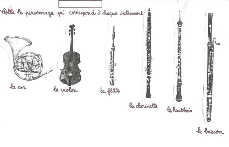 Pin by zygoto on ecole musique pinterest - Coloriage pierre et le loup ...