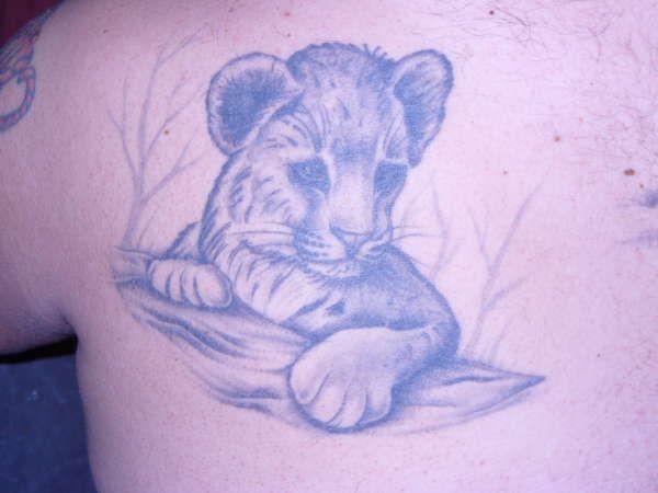 Lion cub tattoo tattoos pinterest for Lion and cub tattoo