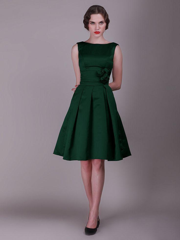 Pinterest for Forest green wedding dress
