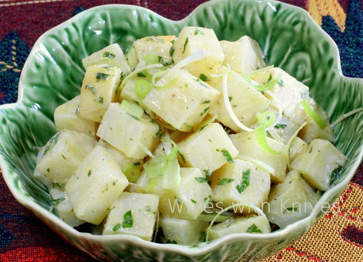 Celeriac (Celery Root) Salad | Recipe