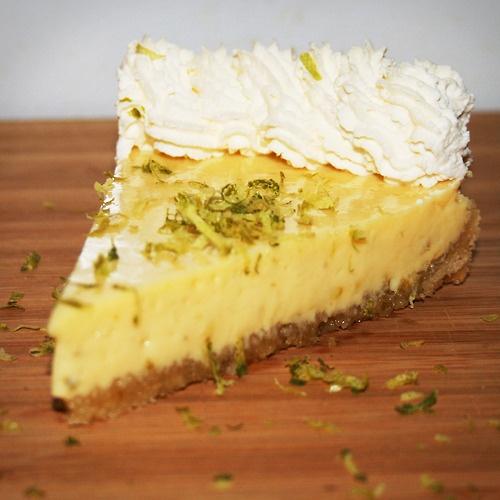 Key Lime Pie with Macadamia Nut Crust | My bakery | Pinterest
