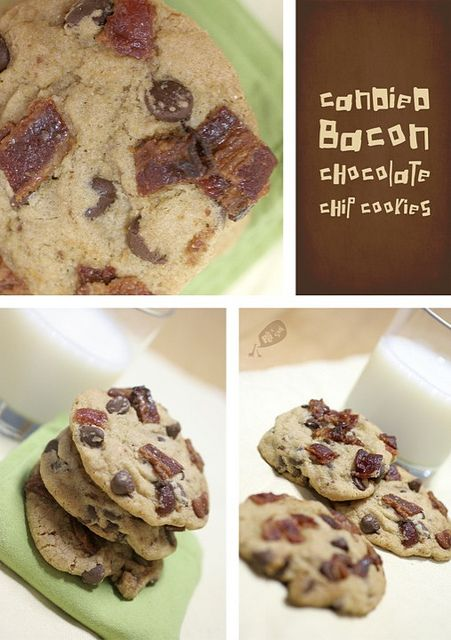 Candied Bacon Chocolate Chip Cookies {Secret Recipe Club}