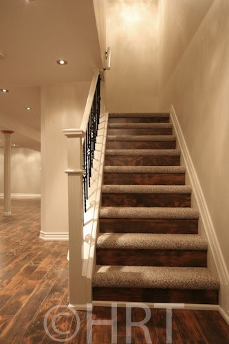 Best Basement Stair Finishing For The Home Pinterest 400 x 300