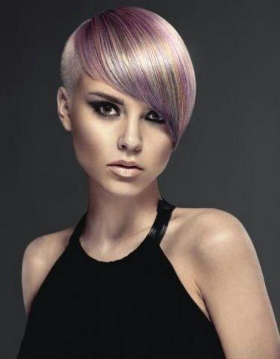 short blonde purple hair women 39 s short hairstyles pinterest. Black Bedroom Furniture Sets. Home Design Ideas