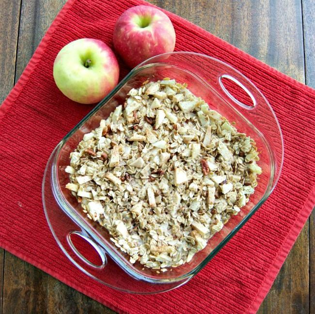 Baked Apple Cinnamon Oatmeal | Recipes I Want to Try | Pinterest