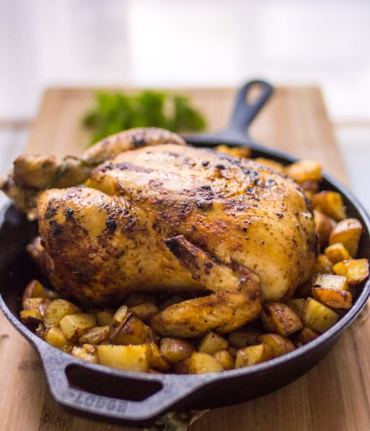 Roasted Chicken | Food | Pinterest