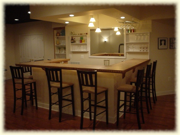 nice basement bar counter set up for the home pinterest