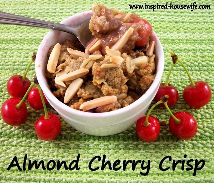 Almond Cherry Crisp – Gluten Free | Sweet Treats | Pinterest