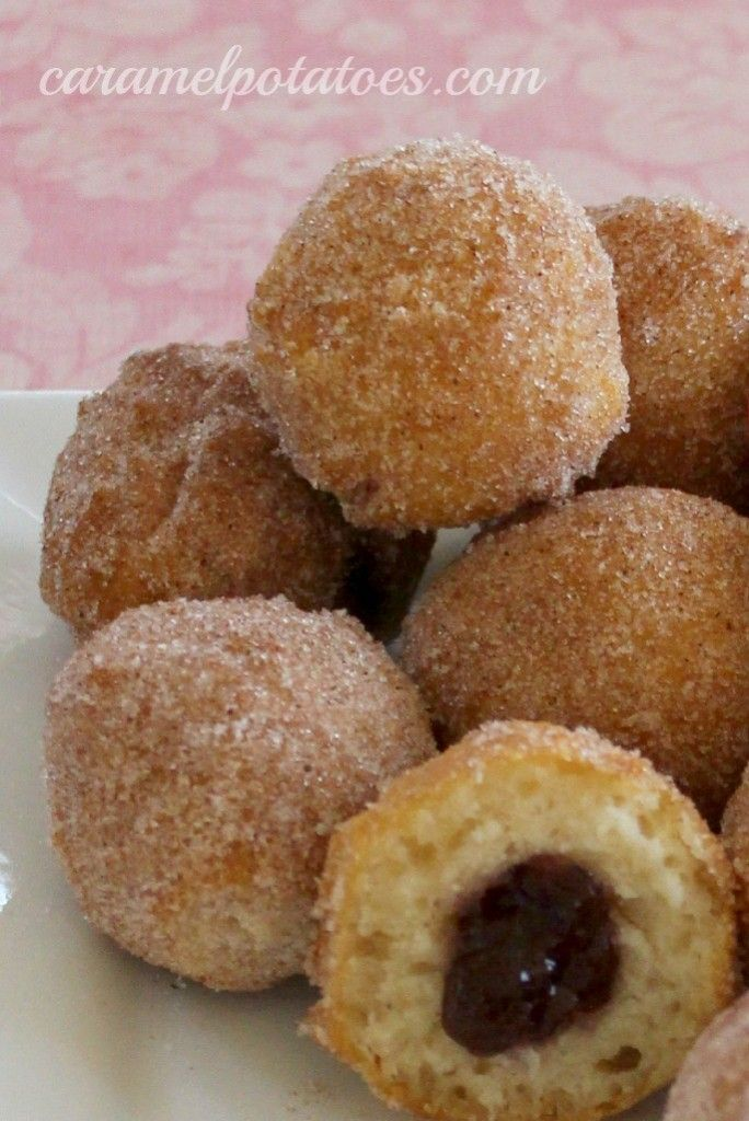 Donut Holes... Making these tommorrow   Food stuff   Pinterest