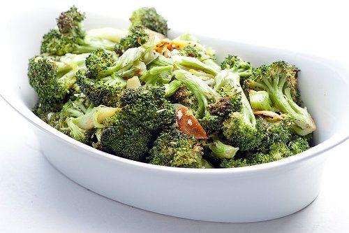 with smashed garlic rezept yummly roasted broccoli roasted broccoli ...