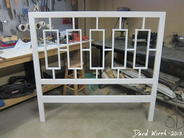 Cheap and easy to make headboard