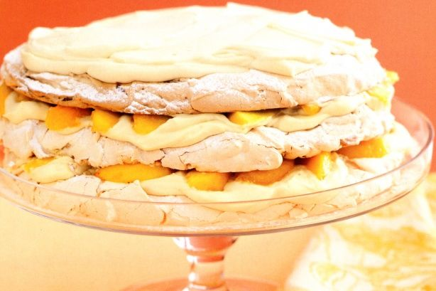 and almond layered pavlova - You'll go nuts over the three layers ...