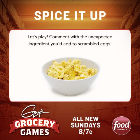 Spice up your Friday with the latest Guy's Grocery Games challenge!
