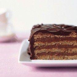 Chocolate Hazelnut Meringue Cake | Yumm! | Pinterest