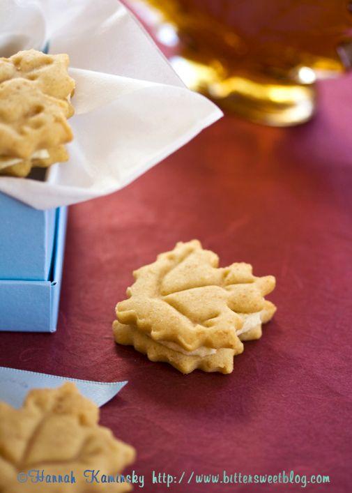 maple leaf cookies | Autumn's Delights | Pinterest